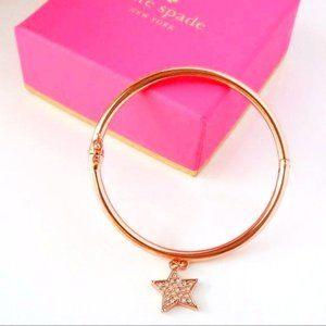 Kate Spade Twinkle Twinkle Bracelet Rose Gold Star